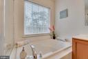Soaking Tub with Window View - 109 HILLSIDE CT, STAFFORD