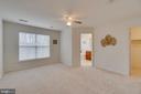 Master Bedroom looking toward Bathroom & Closet - 109 HILLSIDE CT, STAFFORD