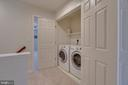 Conveniently Located Upper Level Laundry - 109 HILLSIDE CT, STAFFORD