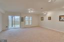 Walkout Level Sliding Glass Door/Natural Light - 109 HILLSIDE CT, STAFFORD