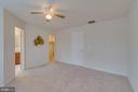 Master Bedroom: New Carpet on Upper Level - 109 HILLSIDE CT, STAFFORD