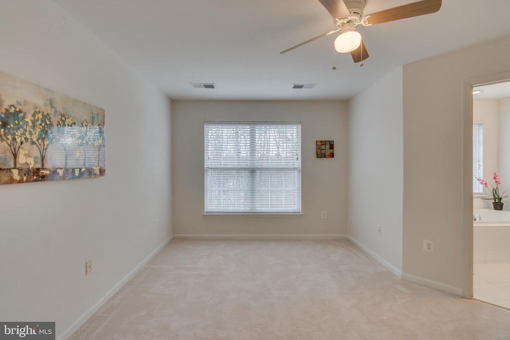 Master Bedroom: Ceiling Fan - 109 HILLSIDE CT, STAFFORD