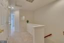 Bedroom Level Hallway - 109 HILLSIDE CT, STAFFORD