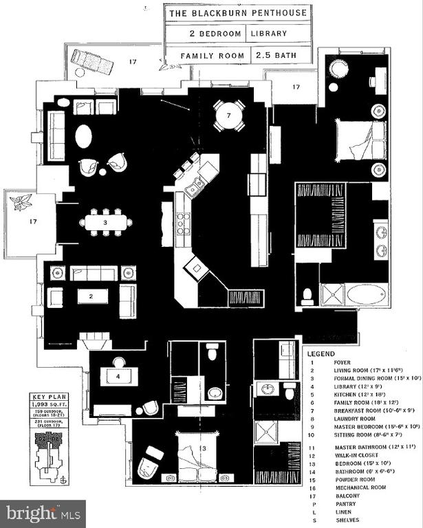 Floor Plan - 11990 MARKET ST #2114, RESTON