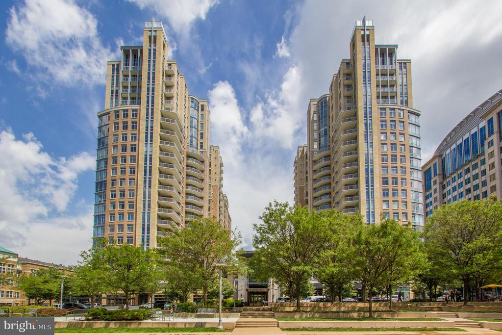 View of Buildings from RTC park - 11990 MARKET ST #2114, RESTON