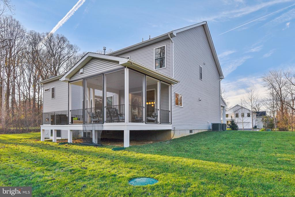 Side Elevation with options - 315 BONHEUR AVE, GAMBRILLS