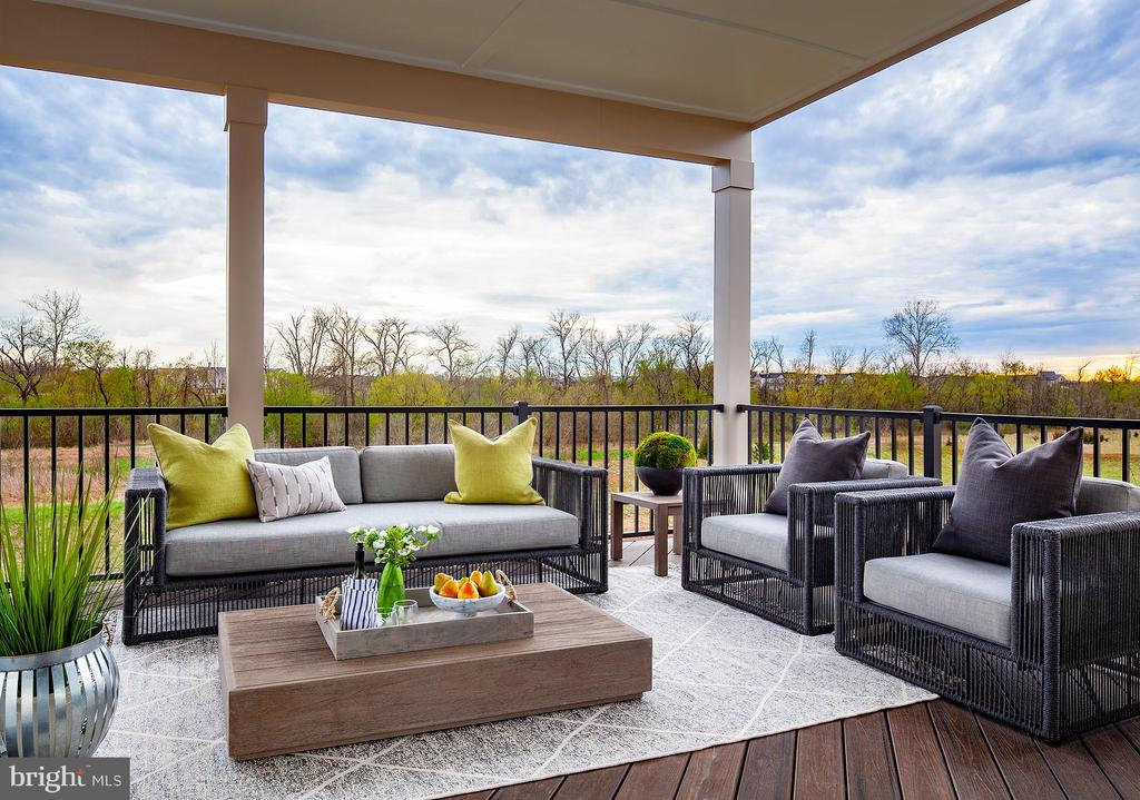 Outdoor Deck - 23561 HOPEWELL MANOR TER, ASHBURN