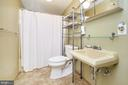 Lower level full bath - 310 HAPPY CREEK RD, LOCUST GROVE