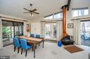 The architecture enhances the natural light - 310 HAPPY CREEK RD, LOCUST GROVE