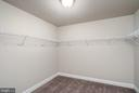 Master Walkin Closet - 6106 LARRICKS WAY, COLUMBIA