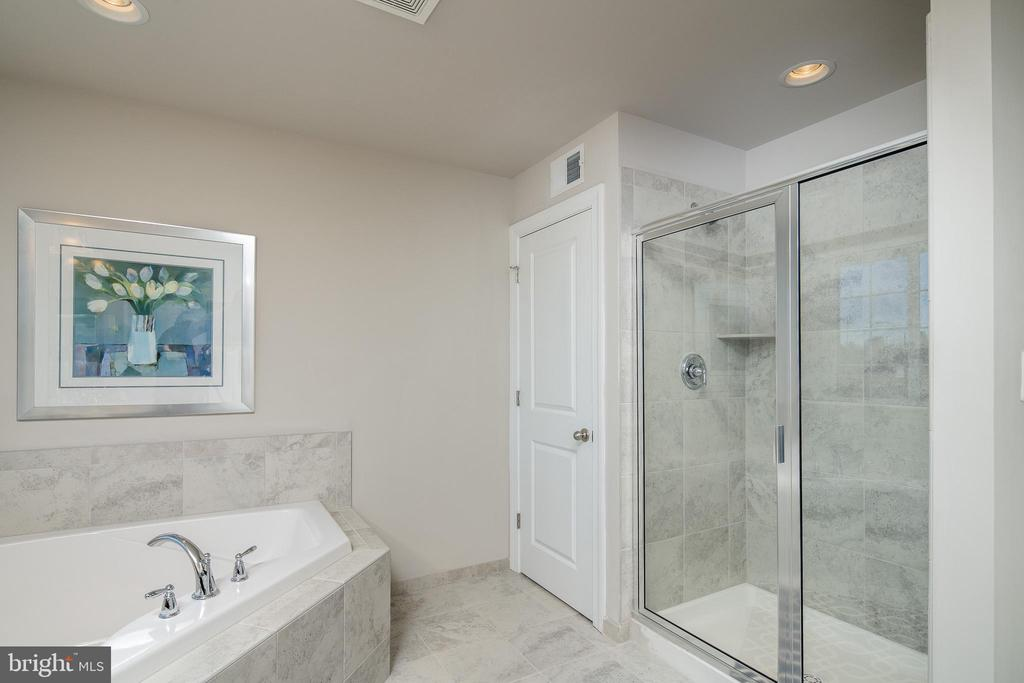 Master Shower/ Tub - 6106 LARRICKS WAY, COLUMBIA