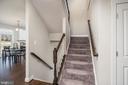 Staircase - 6106 LARRICKS WAY, COLUMBIA