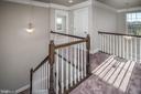2nd  Floor Hallway / 2Story Foyer - 6106 LARRICKS WAY, COLUMBIA