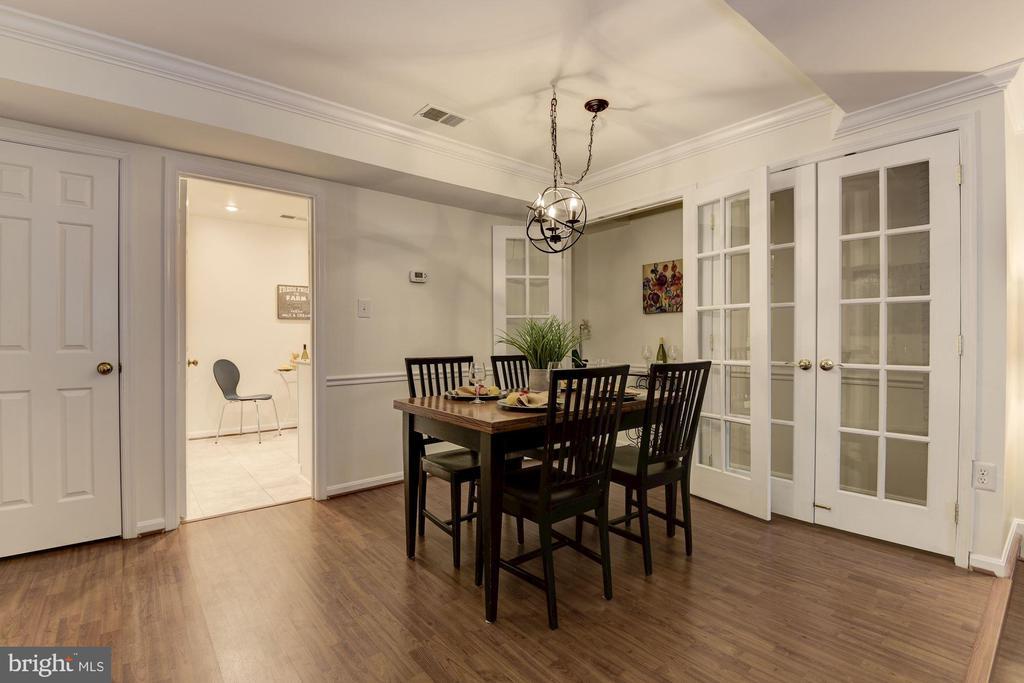 Dining room - 1956 N CLEVELAND ST #1, ARLINGTON