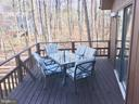 Great deck space from which to enjoy the views - 310 HAPPY CREEK RD, LOCUST GROVE