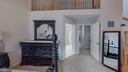 Third Level Master Bedroom with Loft - 416 PHELPS ST, GAITHERSBURG