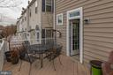 Second Story Deck - 416 PHELPS ST, GAITHERSBURG