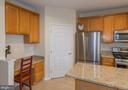 Built in Desk next to HUGE walk in pantry!! - 416 PHELPS ST, GAITHERSBURG