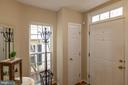 Coat closet next to Front Door is convenient! - 416 PHELPS ST, GAITHERSBURG