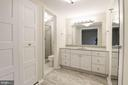 Master bath, just updated in 2018 - 3031 BORGE ST #310, OAKTON