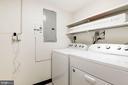 Laundry Room - 3031 BORGE ST #310, OAKTON