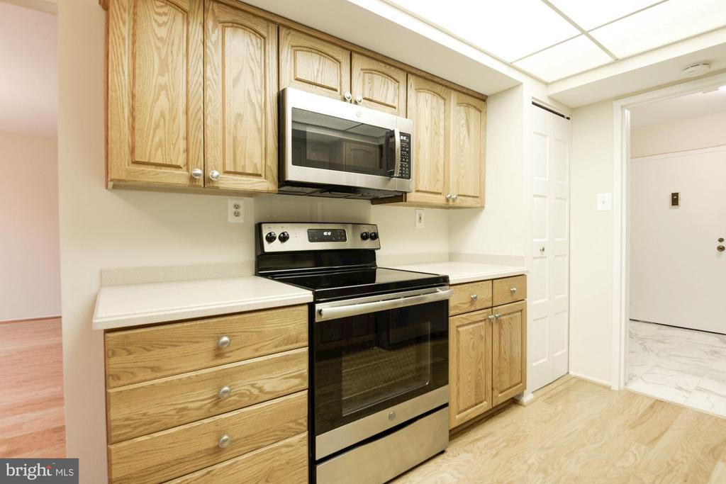 Kitchen - 3031 BORGE ST #310, OAKTON