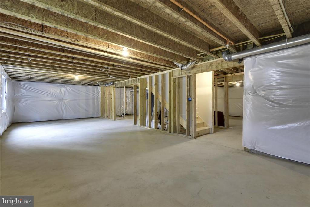 Unfinished Basement - 1512 BEAUX LN, GAMBRILLS