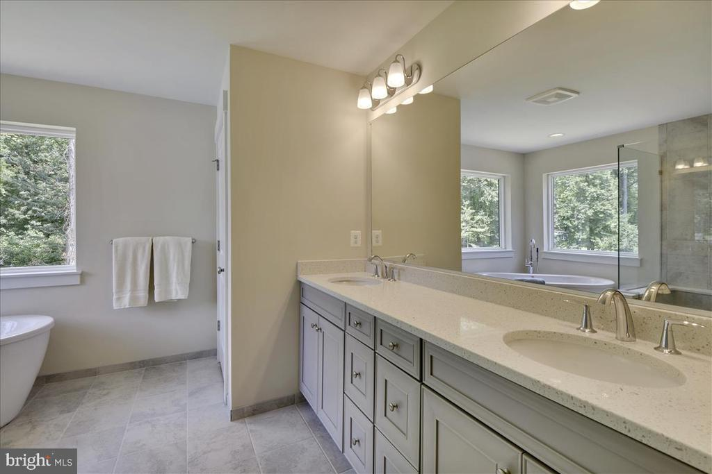 Owner's Suite Full Bath Shown with upgrades - 1512 BEAUX LN, GAMBRILLS