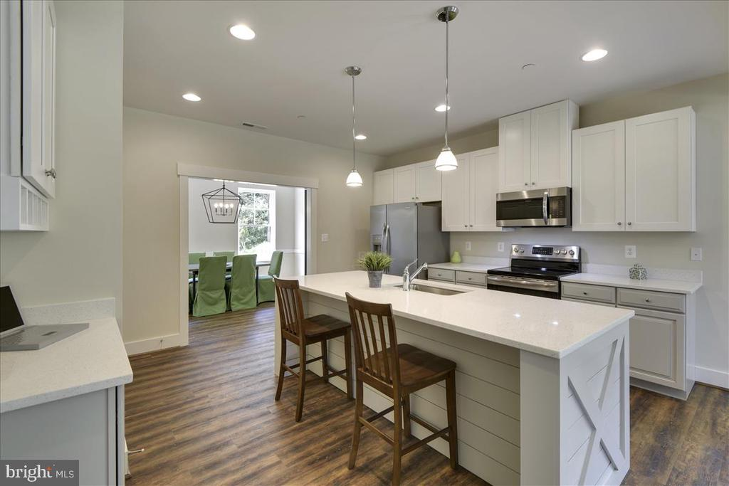Upgraded kitchen options - 1512 BEAUX LN, GAMBRILLS