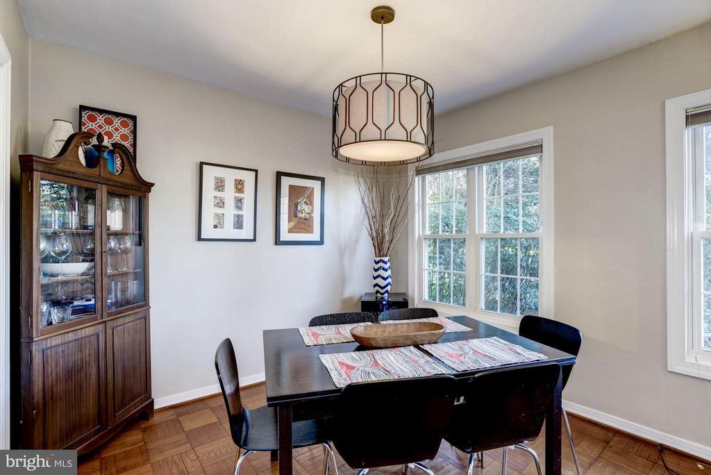 Dining Room - Hardwood Floors! - 3335 MARTHA CUSTIS DR, ALEXANDRIA