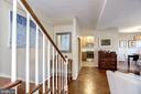 Foyer Leading to Living Room - 3335 MARTHA CUSTIS DR, ALEXANDRIA