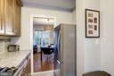 Kitchen - New Back Splash, Flooring, & Lighting! - 3335 MARTHA CUSTIS DR, ALEXANDRIA