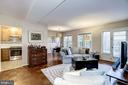 Living Room - Open Concept Floor Plan - 3335 MARTHA CUSTIS DR, ALEXANDRIA