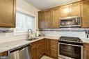 Kitchen - Recently Gutted, Renovated Top-to-Bottom - 3335 MARTHA CUSTIS DR, ALEXANDRIA