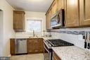 Kitchen - New Cabinets, New Counter Tops! - 3335 MARTHA CUSTIS DR, ALEXANDRIA