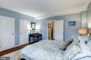 Bedroom - Features 2 Closets! - 3335 MARTHA CUSTIS DR, ALEXANDRIA