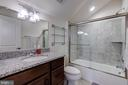 Private bath for bedroom 2 - 22982 HOMESTEAD LANDING CT, ASHBURN
