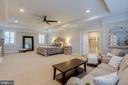 Owner's suite with double door entry - 22982 HOMESTEAD LANDING CT, ASHBURN