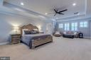 Spacious owner's suite - 22982 HOMESTEAD LANDING CT, ASHBURN
