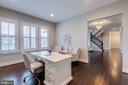 Huge office with plenty of room for multiple desks - 22982 HOMESTEAD LANDING CT, ASHBURN
