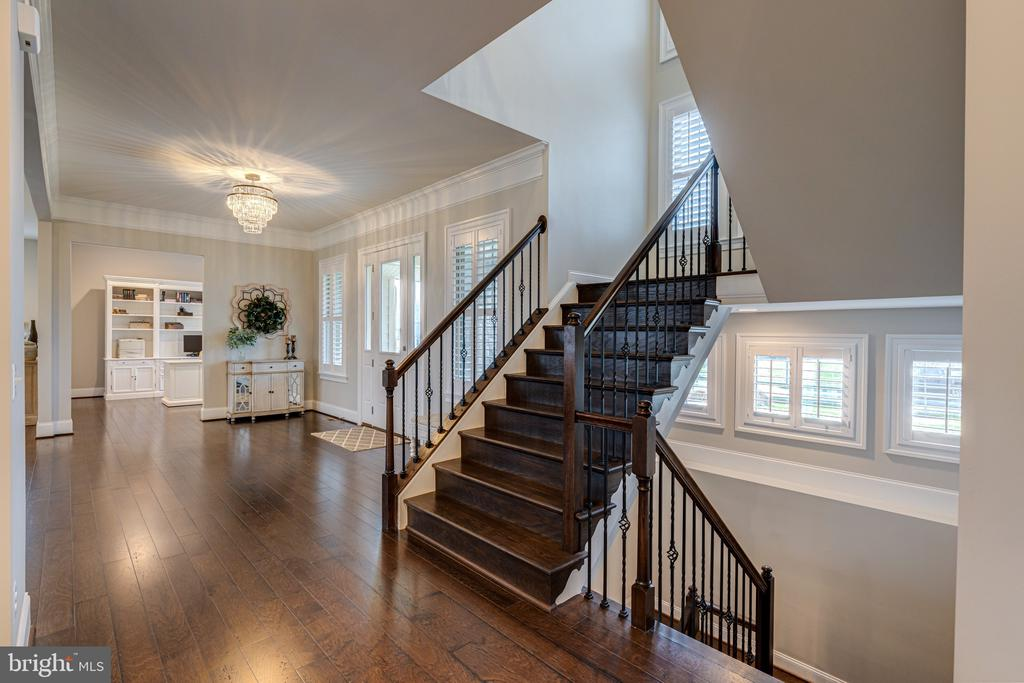 Tons of windows let you enjoy the outdoors - 22982 HOMESTEAD LANDING CT, ASHBURN