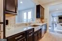 Pass through to huge casual dining area - 22982 HOMESTEAD LANDING CT, ASHBURN