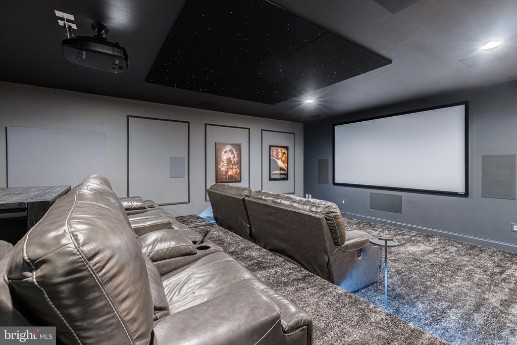 Theatre room of your dreams! - 22982 HOMESTEAD LANDING CT, ASHBURN