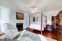 Master Bedroom with fireplace - 211 PRINCE ST, ALEXANDRIA