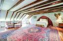 4th floor bedroom with original beams - 1784 - 211 PRINCE ST, ALEXANDRIA