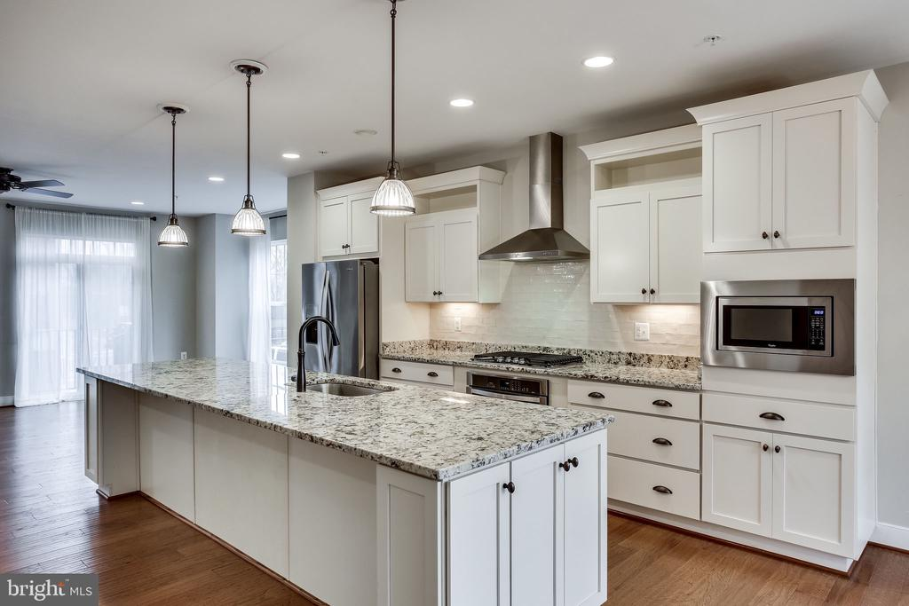 Welcoming, Large, Upscale Kitchen - 264 BLUEMONT BRANCH TER SE, LEESBURG