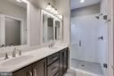 Double Sinks and Oversized Shower - 264 BLUEMONT BRANCH TER SE, LEESBURG