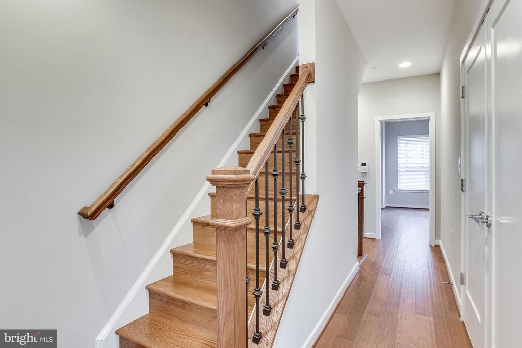Hardwood Stairs to 4th Level - 264 BLUEMONT BRANCH TER SE, LEESBURG
