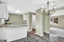 Kitchen - 21 WILLOW SPRING CT, GERMANTOWN