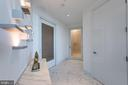 Foyer w/access to den (3rd bedroom) and half bath - 1881 N NASH ST #2309, ARLINGTON